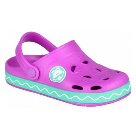 Coqui FROGGY růžová - Dětské sandály