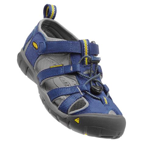sandály Keen Seacamp II Blue Depths/Gargoyle K (CNX)
