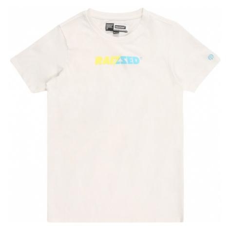 Raizzed Tričko 'HUMBERTO' bílá / nebeská modř / žlutá