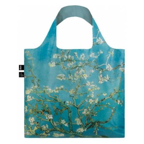 Skládací nákupní taška LOQI VAN GOGH Almond Blossom