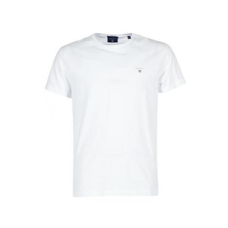 Gant THE ORIGINAL T-SHIRT Bílá