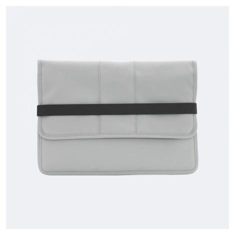 Šedé pouzdro na notebook – Laptop Portfolio RAINS