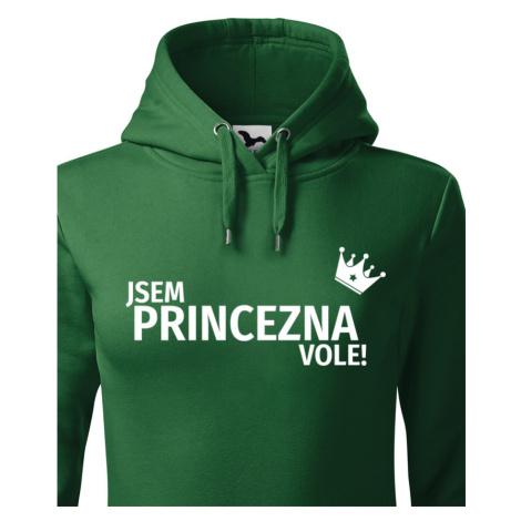 Dámská mikina Jsem princezna vole - s dopravou jen za 46 Kč BezvaTriko