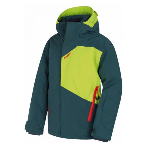 Dětská lyžařská bunda HUSKY Zort tmavý mentol