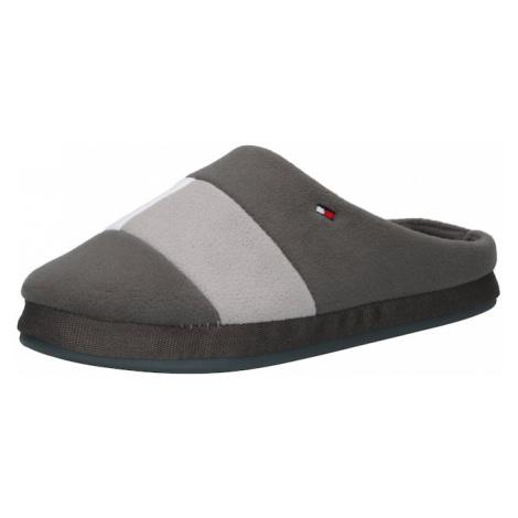 TOMMY HILFIGER Pantofle šedá / světle šedá