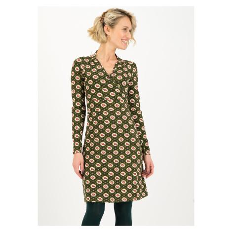 Udržitelné bavlněné šaty s dlouhým rukávem Blutsgeschwister Výbuch minulosti