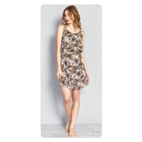 Dámské šaty Jenny, XL, hnědá Vienetta Secret