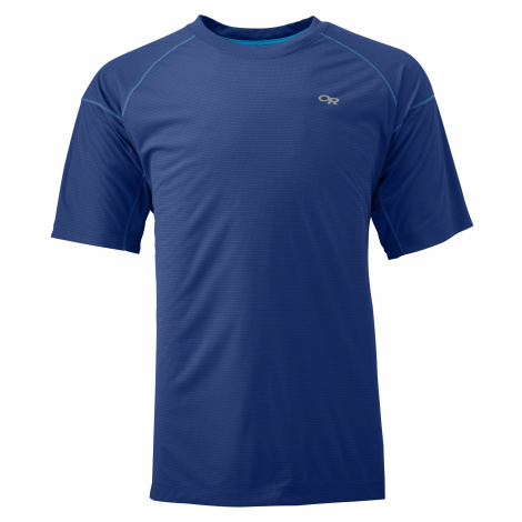 pánské triko OUTDOOR RESEARCH Men'S Echo Tee, Baltic/Glacier