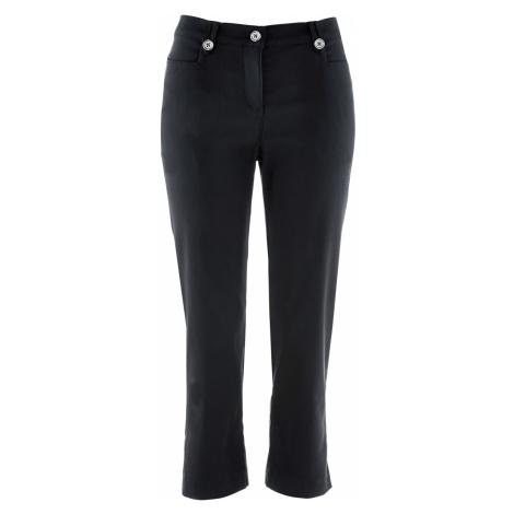 3/4 bengalínové kalhoty, tvarující postavu Bonprix
