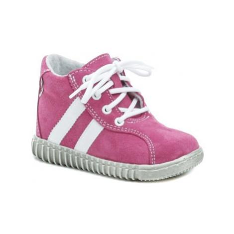 Pegres 1095 růžové dětské botičky Růžová