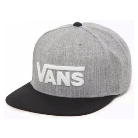 Kšiltovka Vans Drop V Snapback heather grey/black