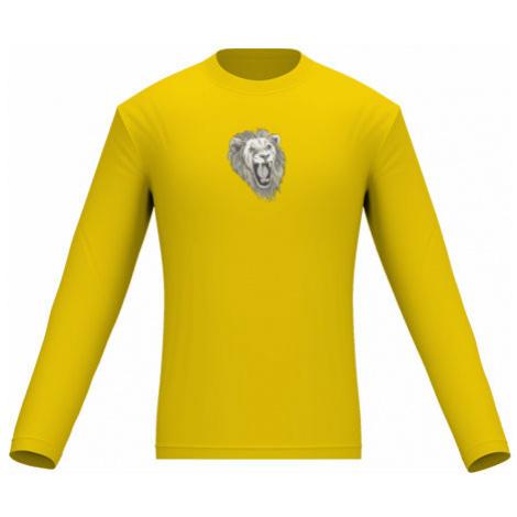 Pánské tričko dlouhý rukáv Lev