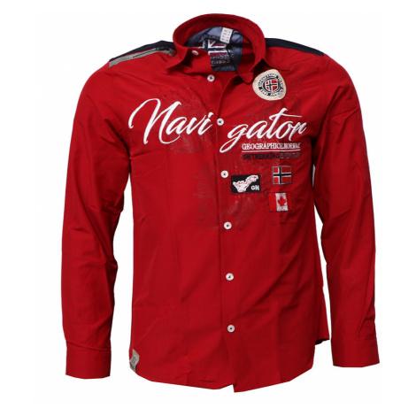GEOGRAPHICAL NORWAY košile pánská ZARIMINEL LS MEN 100