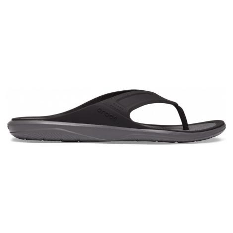 Crocs Swiftwater Wave Flip M Black/Slate Grey M9