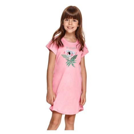 Dívčí noční košilka Matylda růžová s koalou Taro