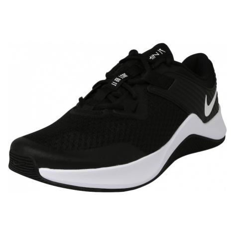 NIKE Sportovní boty bílá / černá