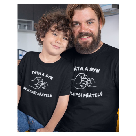 Set táta a syn - ideální rodinná trička BezvaTriko