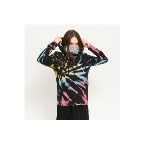 Urban Classics Ladies Tie Dye Hoody černá / multicolor