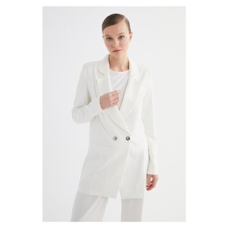 Trendyol Ecru Woven Jacket