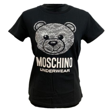 Černé tričko - MOSCHINO