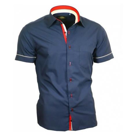 BINDER DE LUXE košile pánská 84002 krátký rukáv