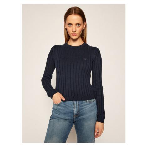 Tommy Hilfiger Tommy Jeans dámský tmavě modrý svetr