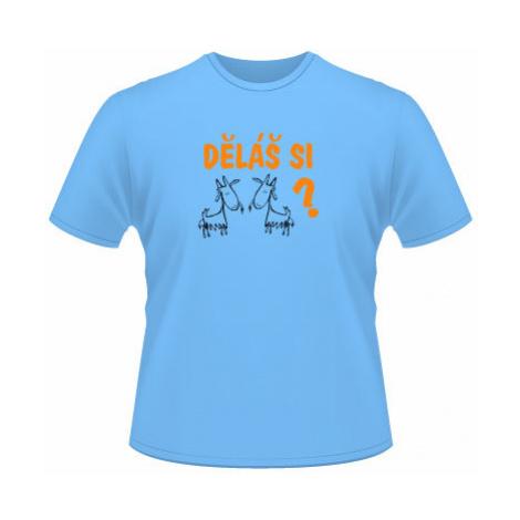 Pánské tričko SuperStar Děláš si kozy