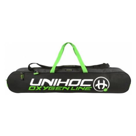 Unihoc OXYGEN LINE 20 černá - Taška na florbalky