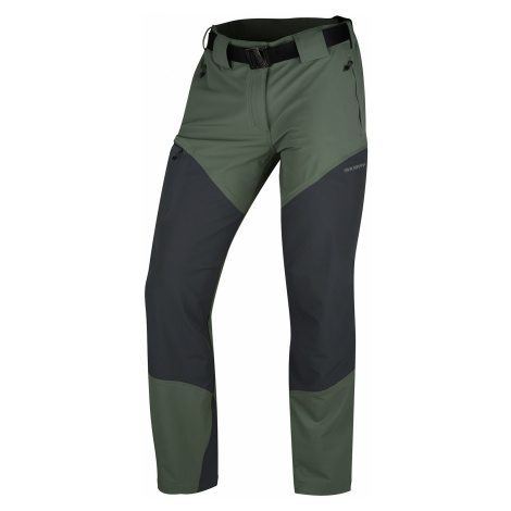 Husky Keiry pánské outdoorové kalhoty světle šedozelené