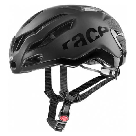 Cyklistická helma Uvex Race 9 all black mat