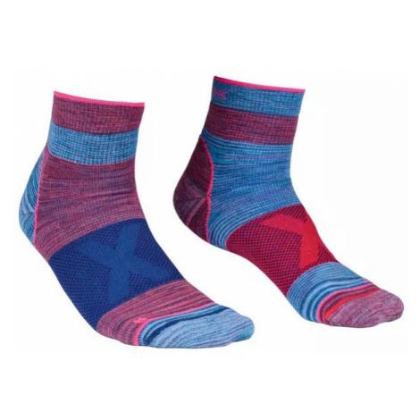 Dámské ponožky Ortovox Alpinist Quarter Socks hot coral