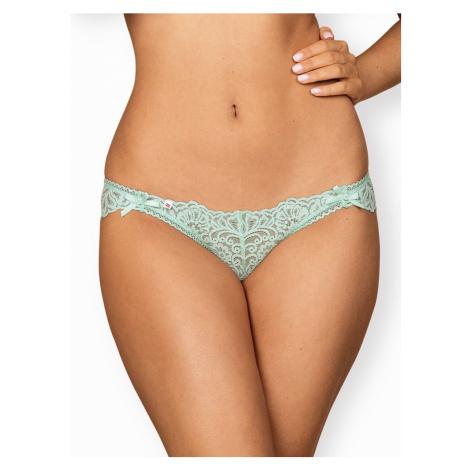 Okouzlující kalhotky Delicanta panties - Obsessive mátová