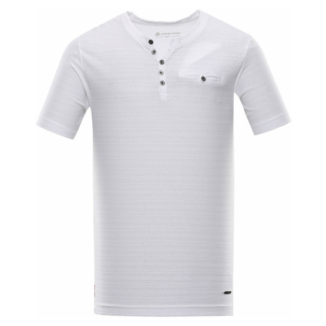 ALPINE PRO ROPER 4 Pánské triko MTSR468000 bílá