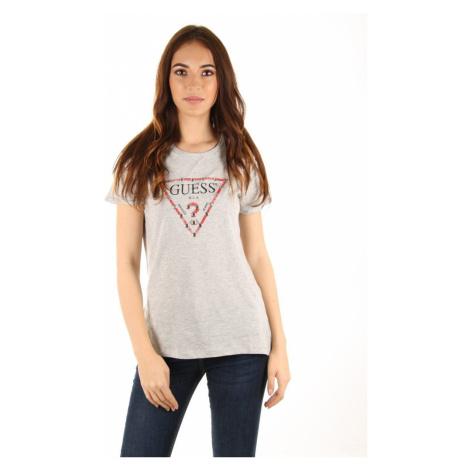 Guess dámské šedé tričko