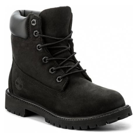 Turistická obuv TIMBERLAND - 6In Prem 12907/TB0129070011 Black Nubuck