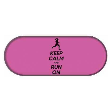 Penál Keep calm and run on