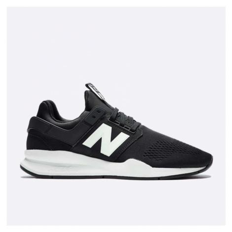 Černobílé pánské tenisky New Balance MS247EB