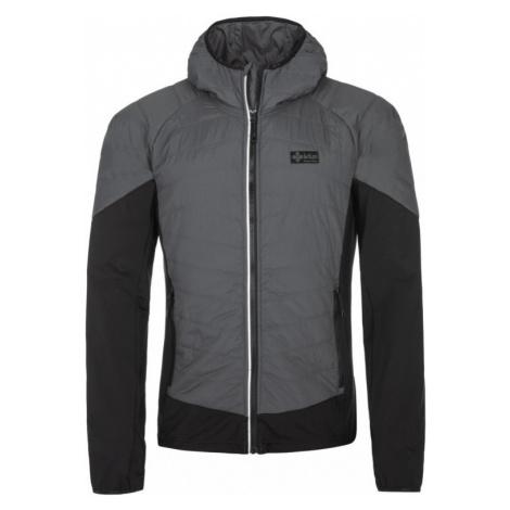 Pánská bunda KILPI GARES-M tmavě šedá