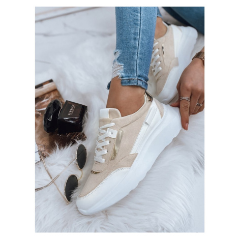 Women's beige ERITREA sneakers ZY0023 DStreet