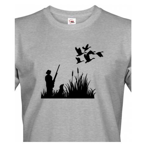 Tričko pro myslivce Lov kachen - ideální Vánoční dárek BezvaTriko