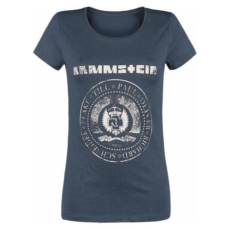 Rammstein Est. 1994 Dámské tričko námořnická modrá
