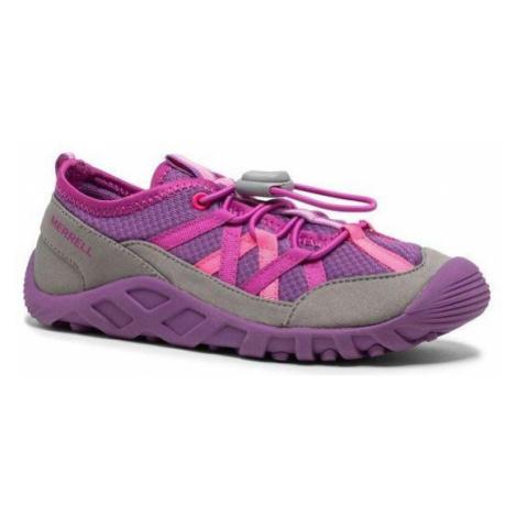 Dětská obuv do vody Merrell Hydro Lagoon Růžová / Fialová