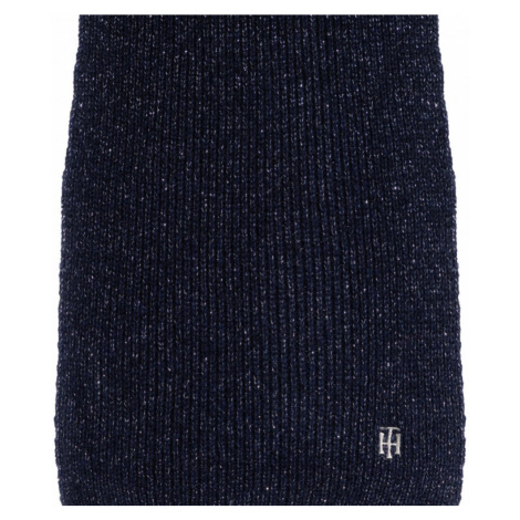 Tommy Hilfiger dámská tmavě modrá zimní šála