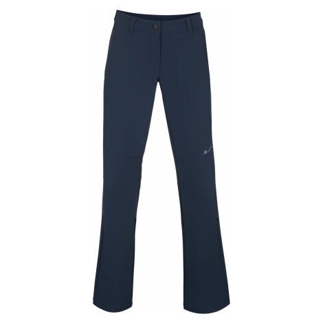 Dámské softshell kalhoty Alpine Pro HYPSEUS 3 - tmavě modrá