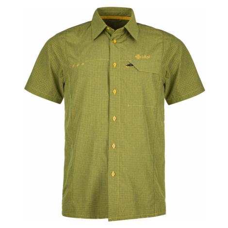 KILPI Pánská košile BOMBAY KM0151KIYEL Žlutá