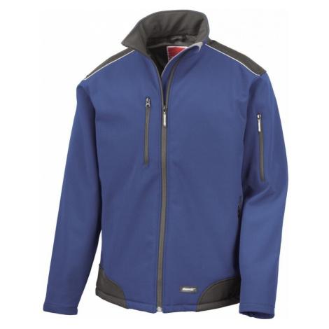 Pracovní softshellová bunda - Royal blue