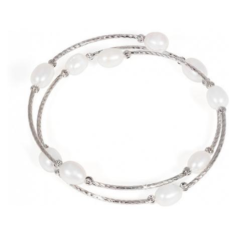 JwL Luxury Pearls Náramek s pravými perlami JL0434