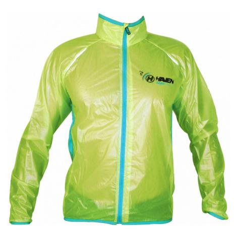 UNI bunda Haven Rainshield zelená/modrá