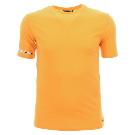 Pánské jednobarevné žluté tričko Gas