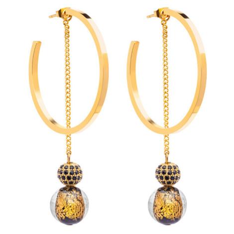Preciosa Luxusní náušnice s vinutými perlemi Ribes 7349Y21